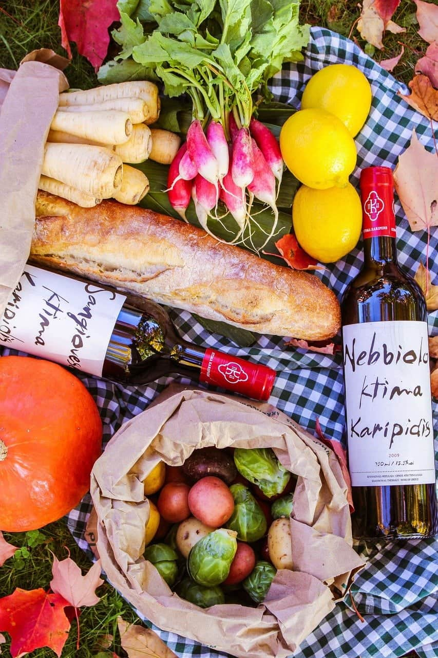 food, picnic, bread