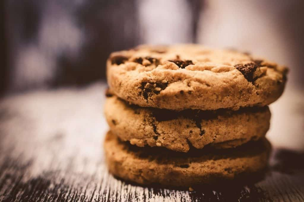 chocolate, chips, cookie