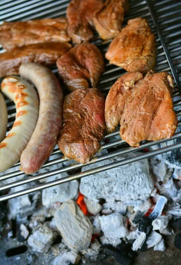 grilling, sausage meat, barbecue